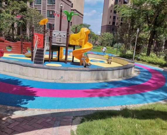 重庆小区EPDM塑胶地面