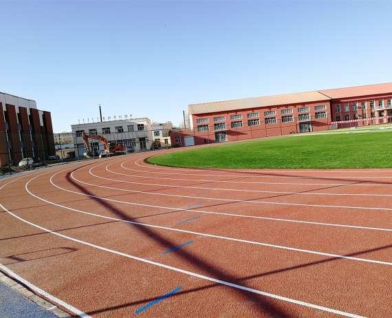 四川学校塑胶跑道项目